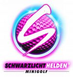 Indoor-Schwarzlicht-Minigolf in Mainz – werdet Schwarzlichthelden! Logo